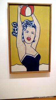 Another Lichtenstein; he has a thing for lips and mouths, doesn't he?