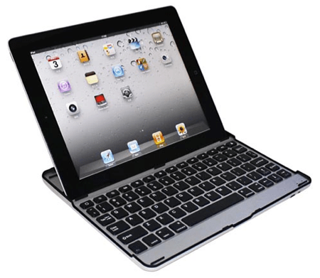 Aluminum Bluetooth Keyboard for iPad