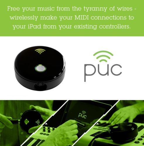 PUC Brings WiFi to MIDI Connections