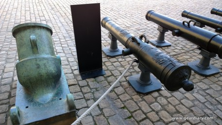 Canons are everywhere you look! French canons, as well as canons captured from enemies