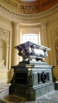 The tomb of Napoleon III