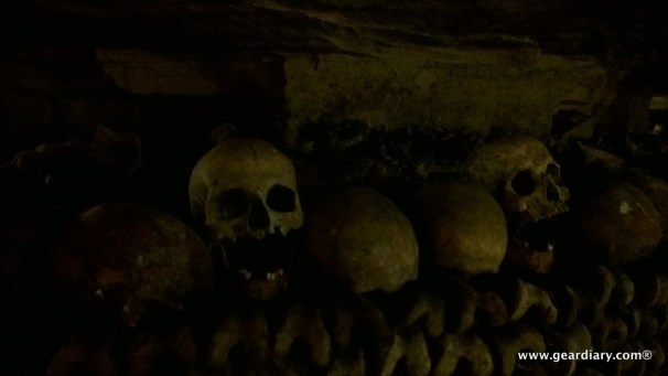 These skulls were the only ones that had jawbones attached, and for some reason that made them creepy