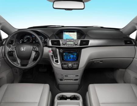 2014 Honda Odyssey Touring Elite interior