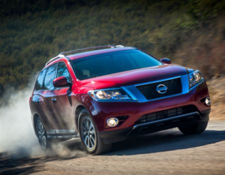 2014 Nissan Pathfinder/Images courtesy Nissan