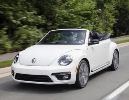 2014 Volkswagen Beetle Convertible/Images courtesy Volkswagen