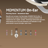 Gear Diary Sennheiser MOMENTUM On Ear Headphones Review photo