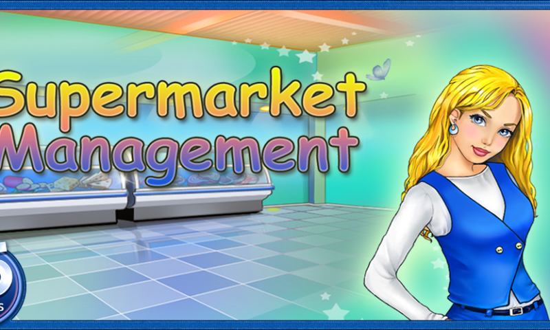 Supermarket Management for Kindle Fire