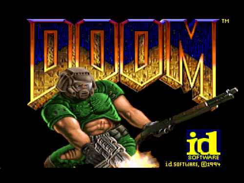 Doom Title Screen