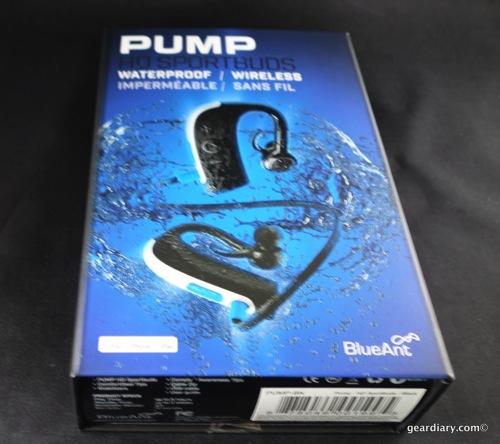 BlueAnt Pump HD Sportbuds Bluetooth Headphones
