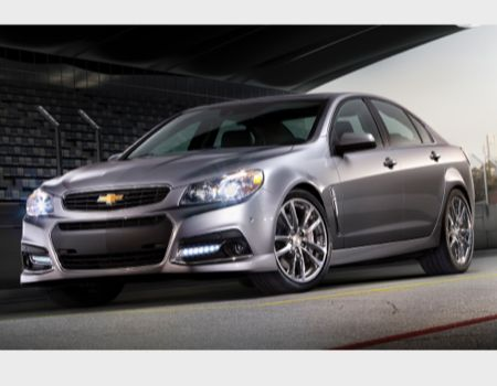 2014 Chevrolet SS/Images courtesy Chevrolet