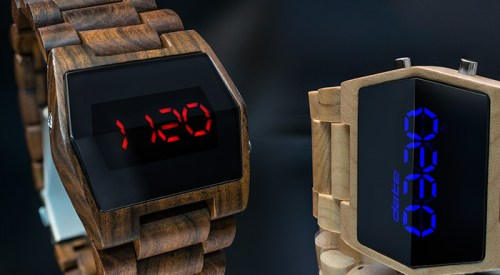 The Kisai Xtal Wood Watch Puts a Bit of Nature on Your Wrist