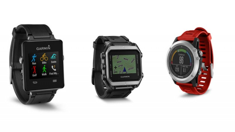 Garmin Wearables CES 2015