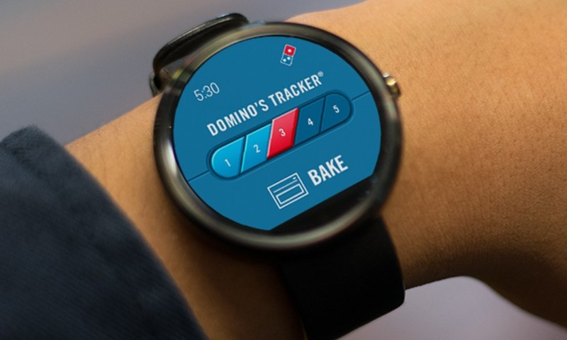 Dominos Android Wear
