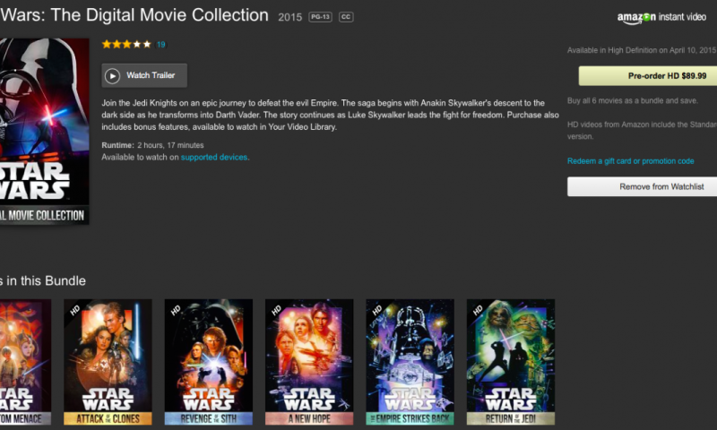Star Wars Digital Editions
