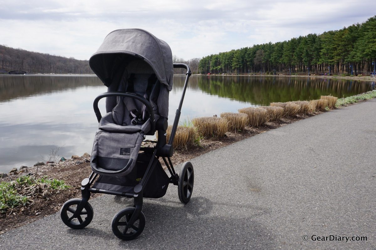 Pram And Pushchair Travel System The Cybex Priam Stroller With Cloud Q Infant Car Seat Is A