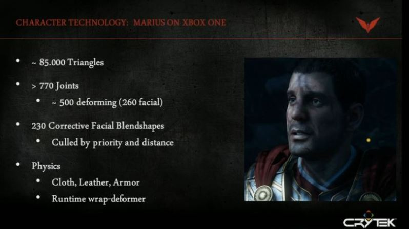 Ryse downgrade officially confirmed by Crytek CEO