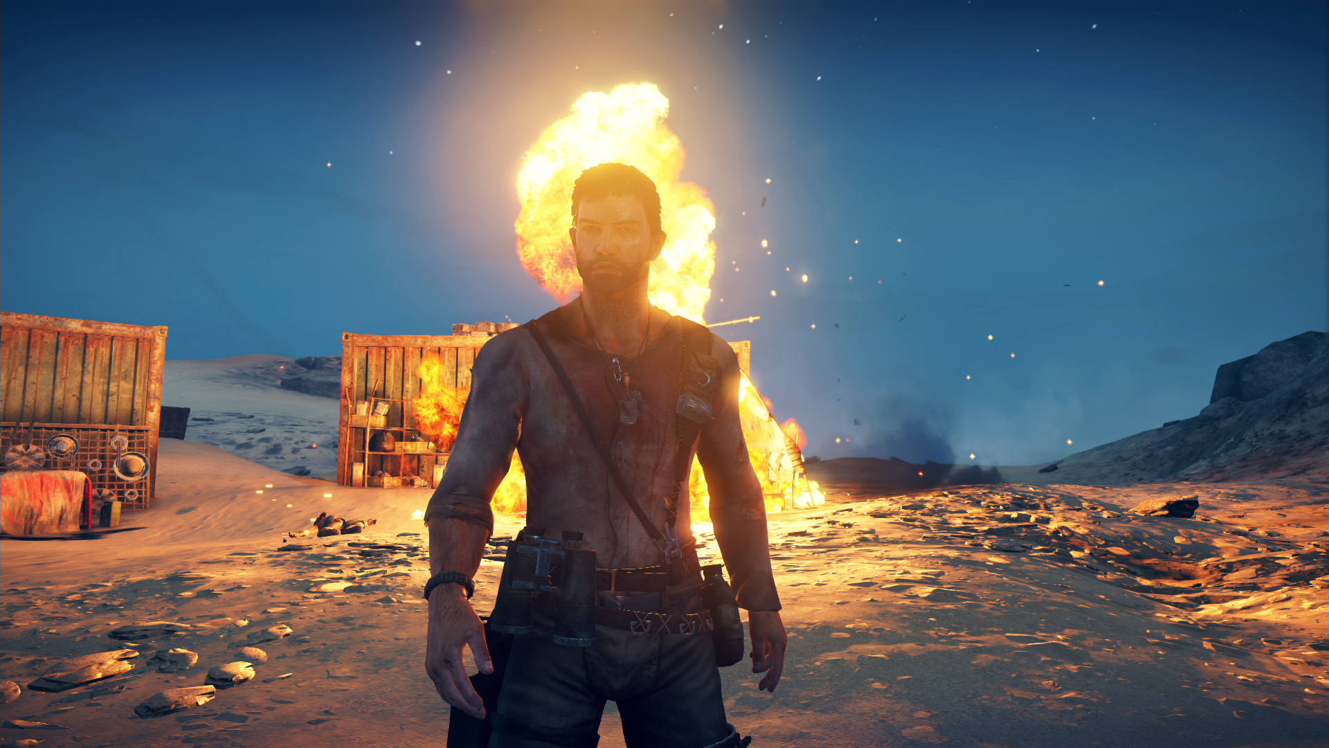 mad max looks gorgeous on ps4 in these direct feed. Black Bedroom Furniture Sets. Home Design Ideas