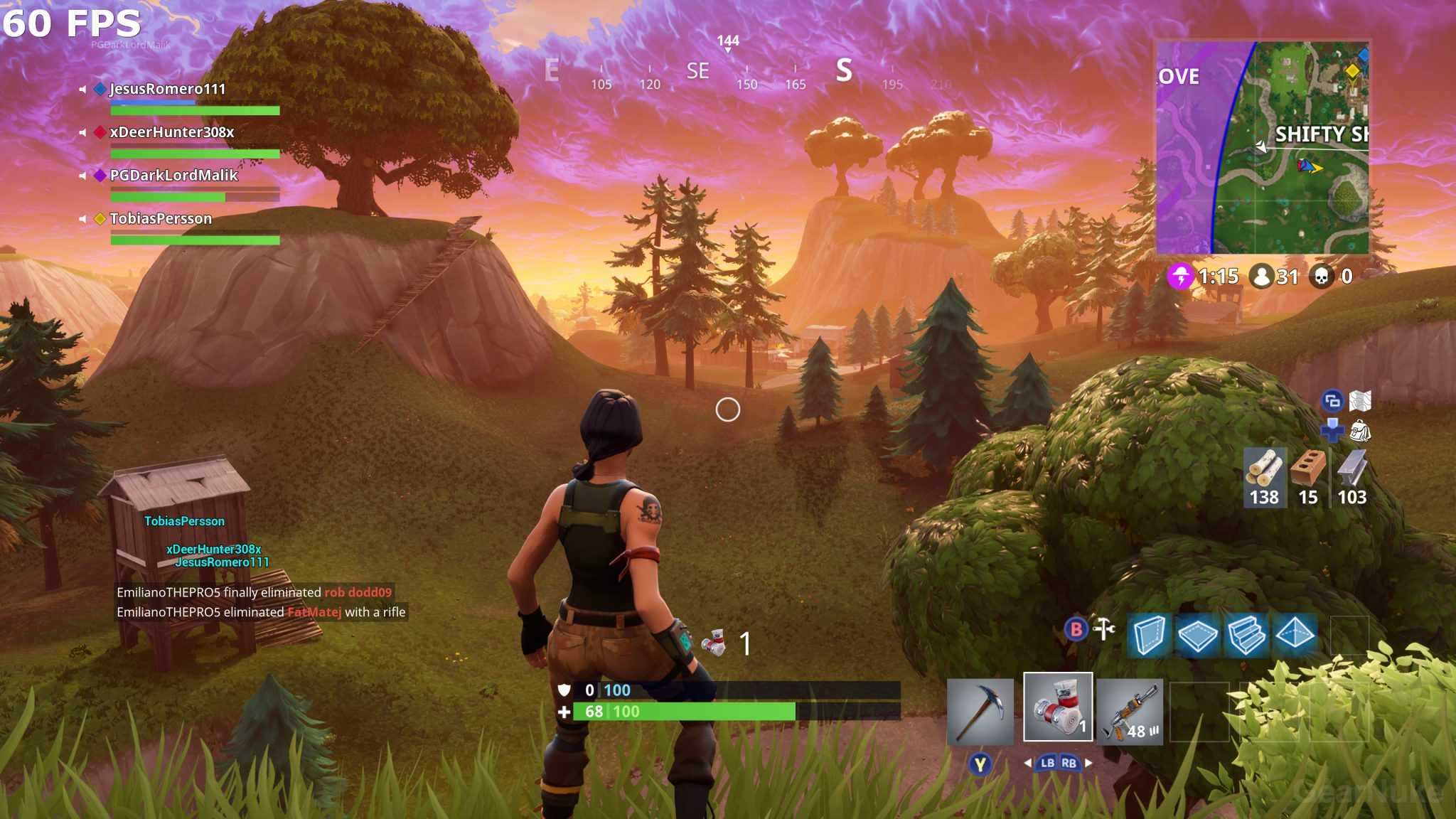 Iphone Pretty Wallpaper Fortnite Is Stunning At 4k 60 Fps On Xbox One X Visual