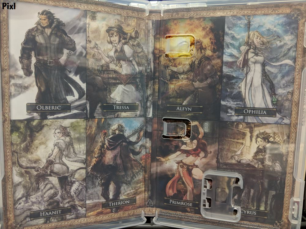 Pixel Forest Wallpaper Cute Octopath Traveler Has Different Case Artwork For Every