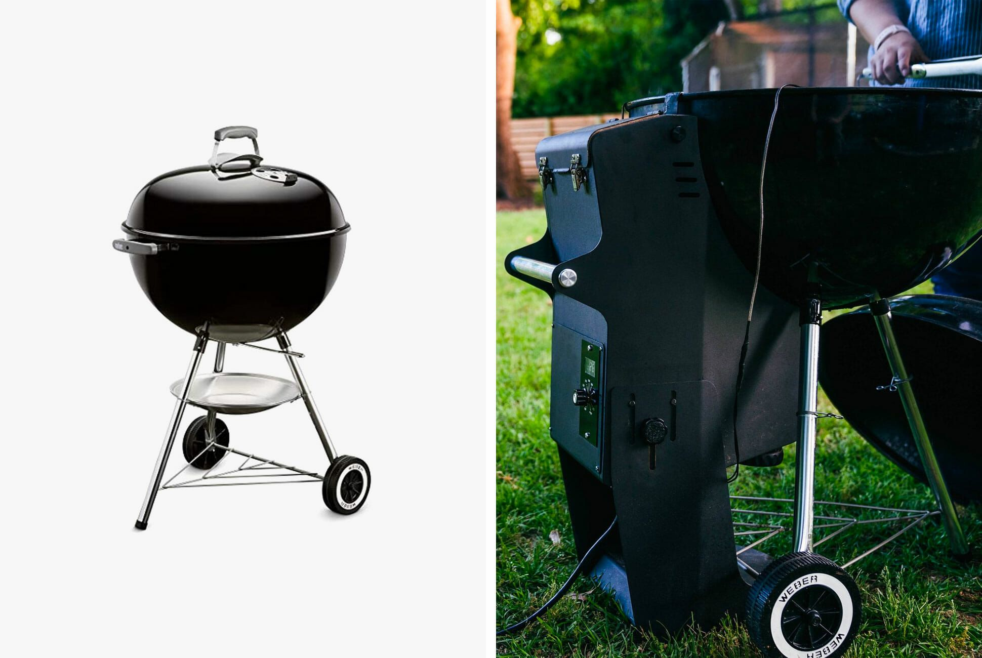 7 Products You Need To Hack Your Weber Kettle Charcoal Grill - Weber Outdoor Fireplace