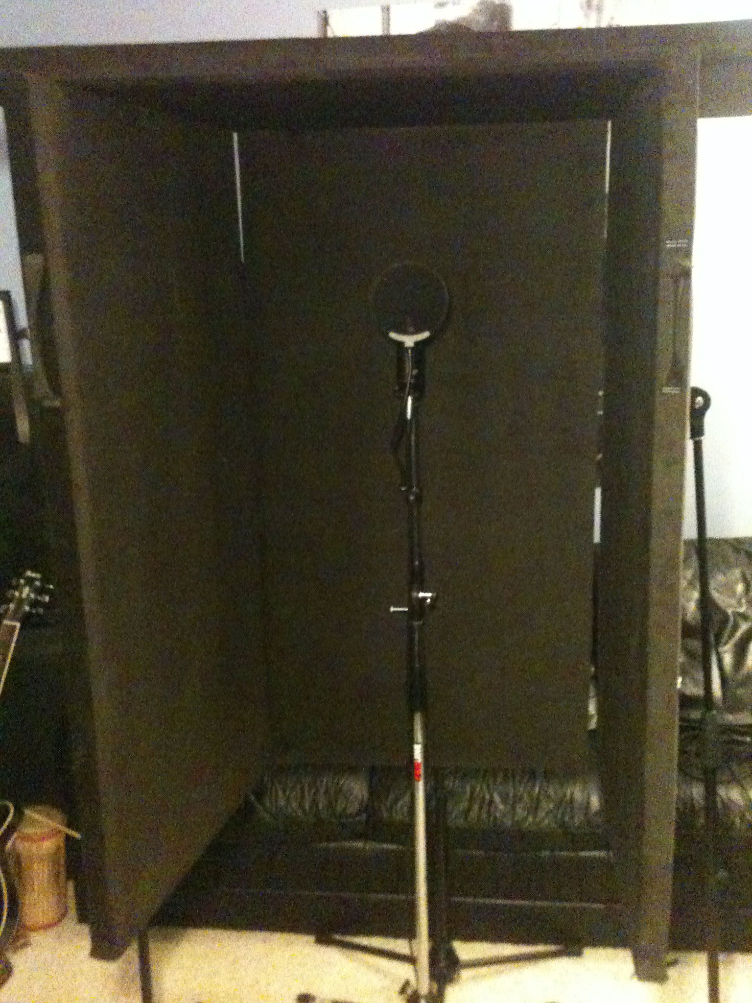 My Diy Portable Vocal Booth Is Complete Gearslutz