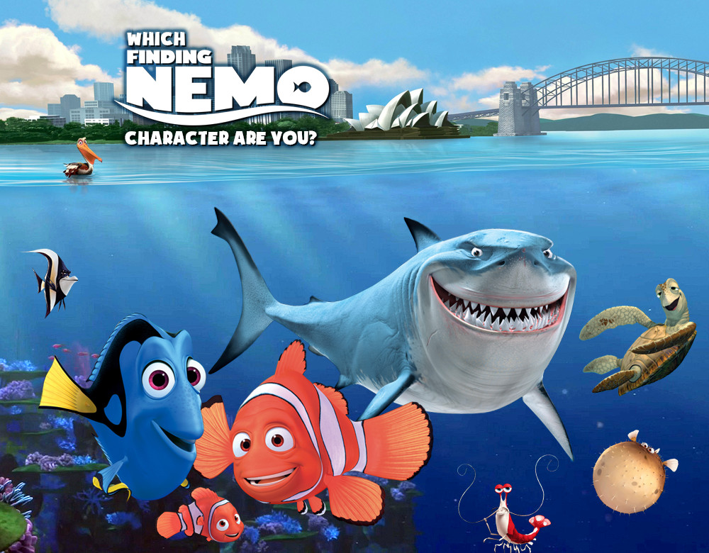 Creature 3d Movie Wallpaper Download Cartoon Background Image Finding Nemo Is Extremely Sharp