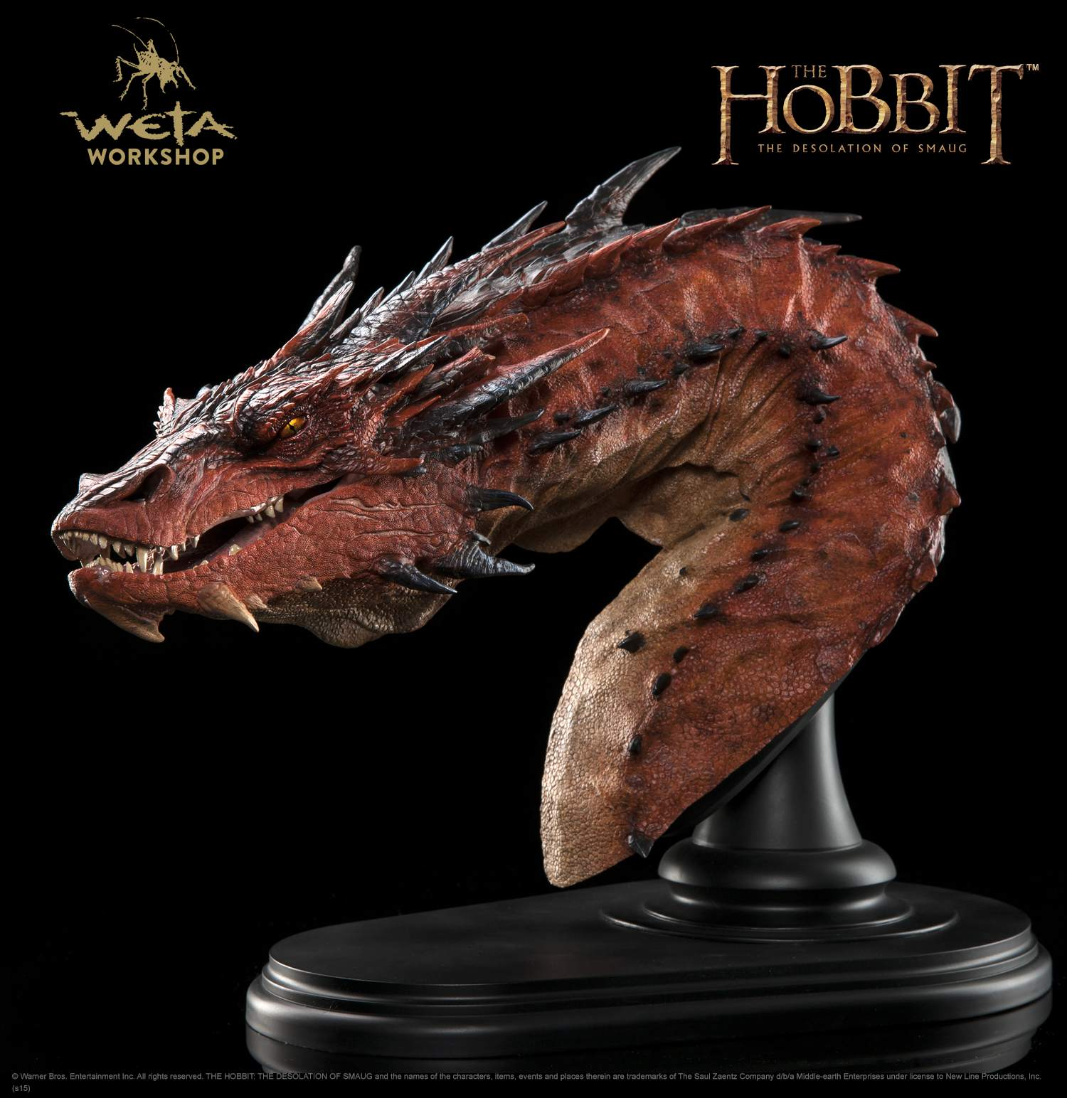 Giant Dragon Statue The Hobbit The Desolation Of Smaug Smaug The Terrible Bust