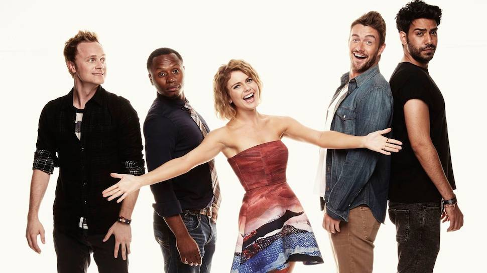 Wallpaper Falling Skies The Cast Of Izombie Hits Wondercon Geek And Sundry