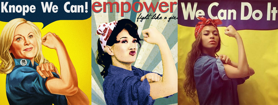 Power Pop Girl Wallpaper The Herstory Of Rosie The Riveter Geek And Sundry