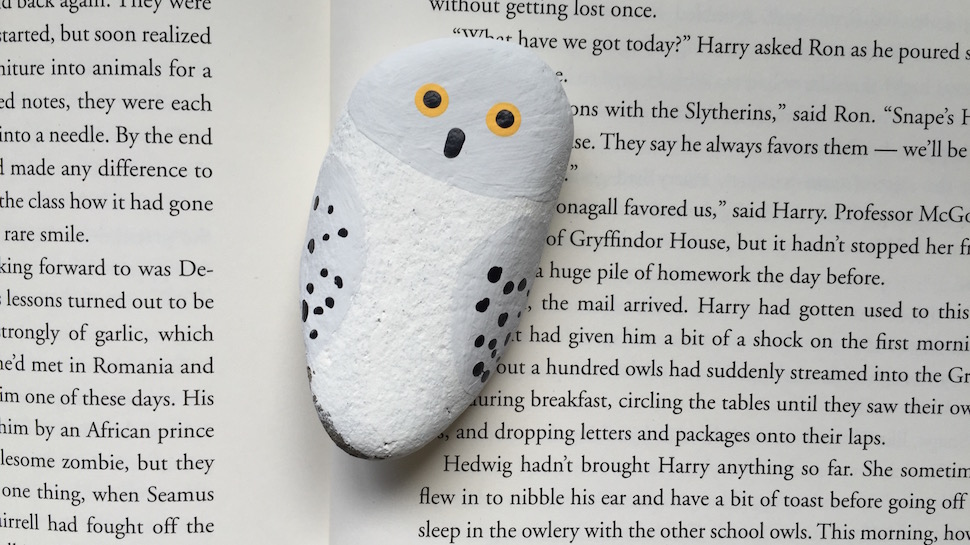 Harry Potter and the Painted Stone A Simple Kids Craft Geek and