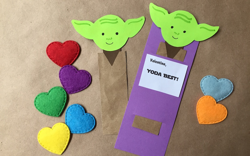 Mine, Be! DIY Yoda Bookmark Valentines Geek and Sundry