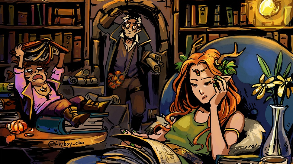Cute Wallpapers For Girls In The Fall Critical Role Fan Art Gallery Back To Wizardry School