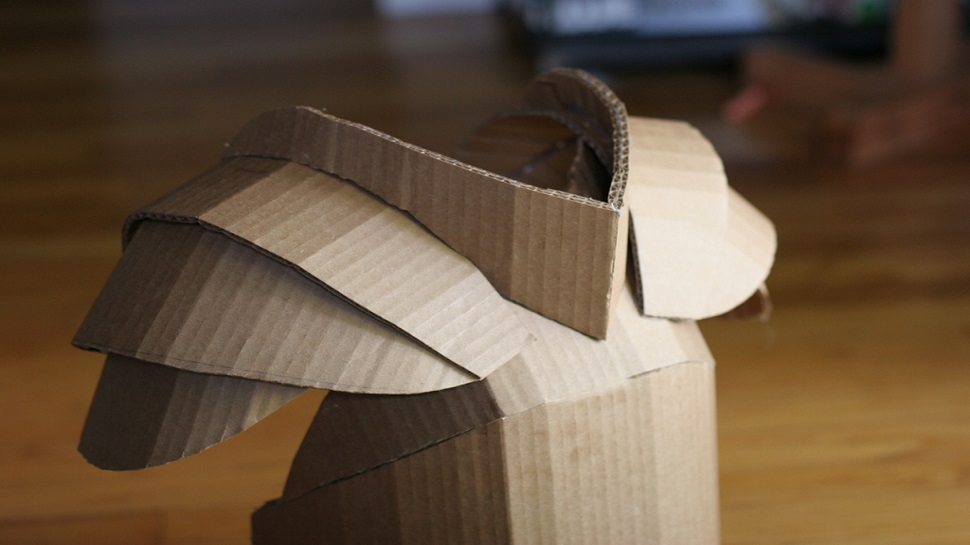 Get Inspired By This Jaw Dropping Cardboard Armor For Kids