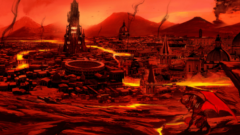 Lava Wallpaper Hd Critical Role Fan Art Gallery To Hell And Back Again