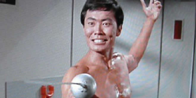 George Takei as Mr. Sulu