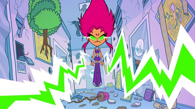 Starfire is back!