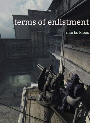 Terms of Enlistment book cover, provided by author Markos Kloos.