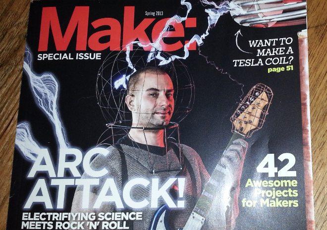 2013-05-22 Arc Attack MAKE Special Edition