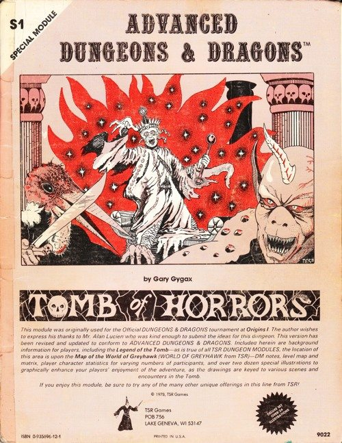 DMS1 Tomb of Horrors