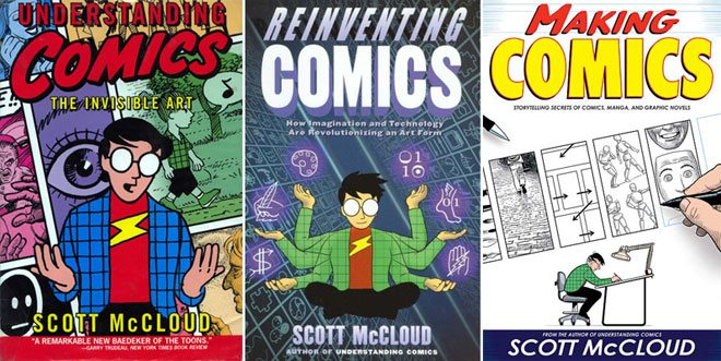 Scott McCloud covers