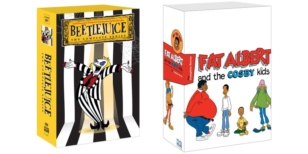 Beetlejuice and Fat Albert covers