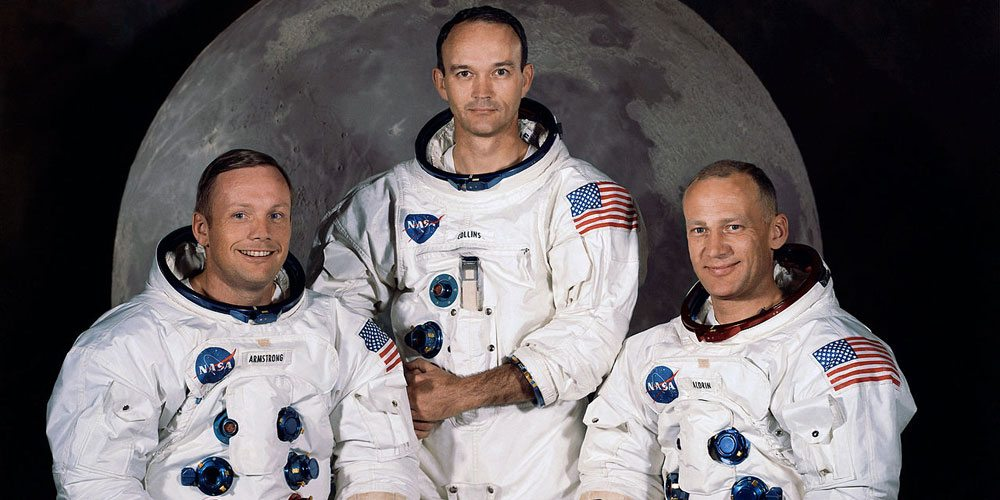 The crew of Apollo 11.