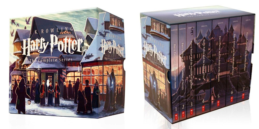 Box Set Hogwarts Harry Potter de J.K. Rowling