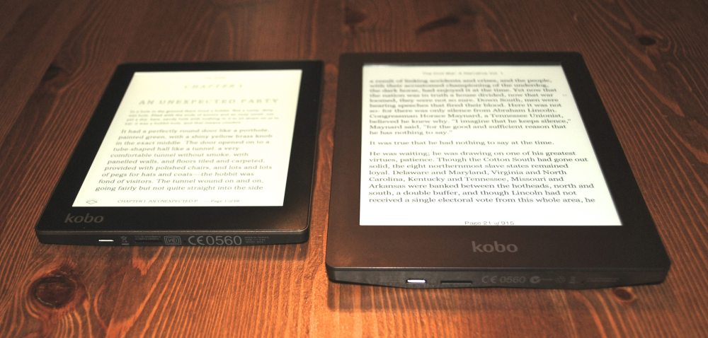 Kobo Aura and Aura HD