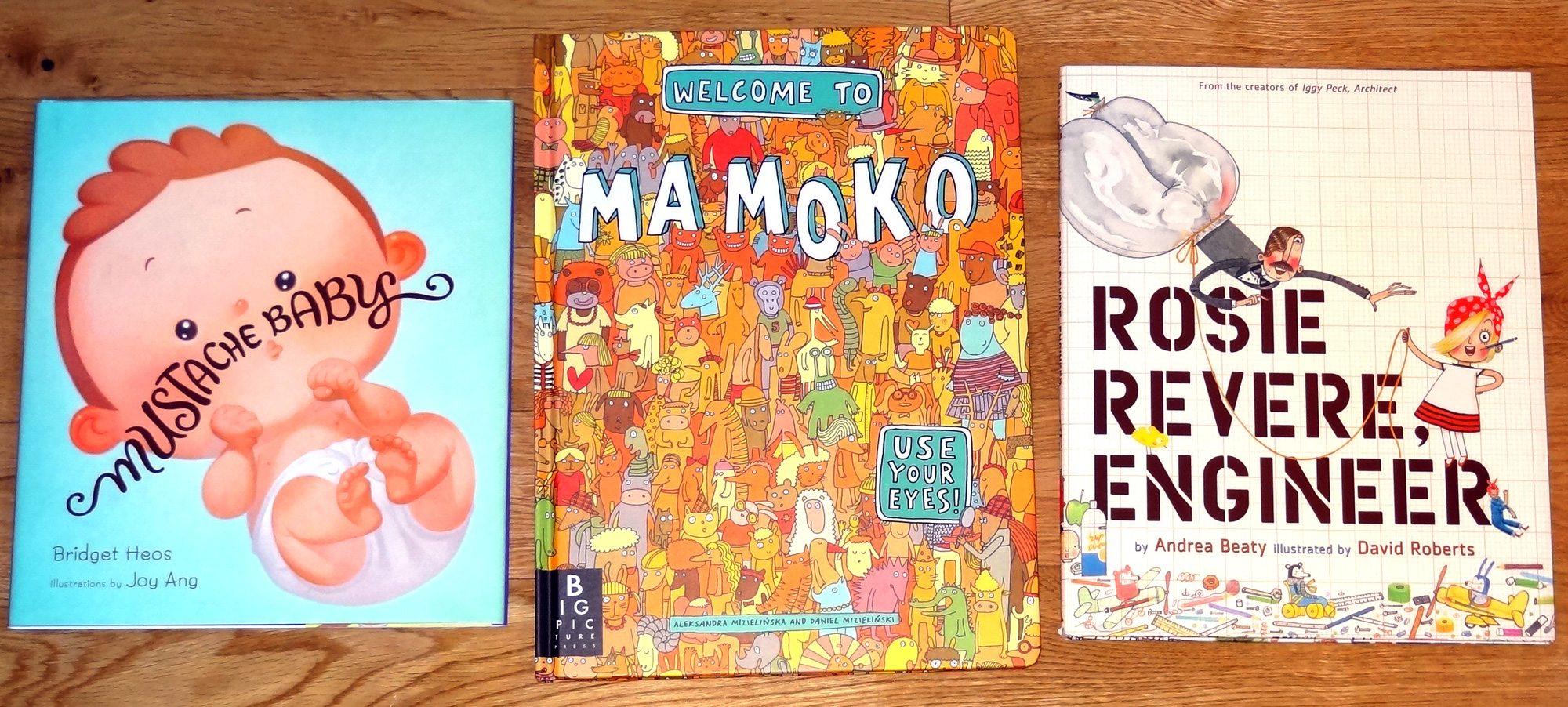 Mustache Baby, Mamoko, Rosie Revere