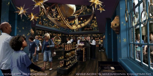 Wiseacre's Wizarding Equipment