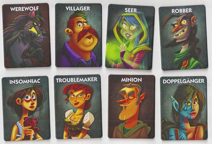 Werewolf cards