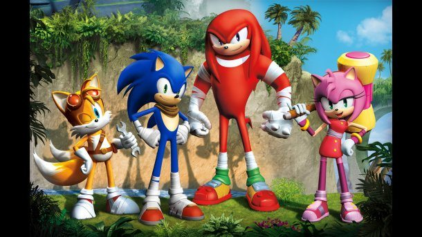 A screenshot from the upcoming Sonic Boom television series, copyright Sega.