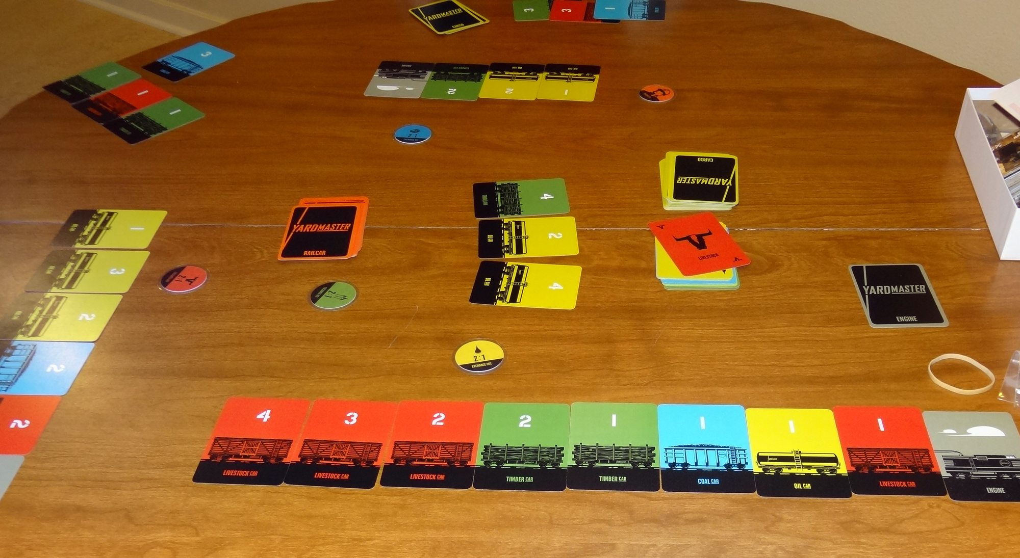 Yardmaster in play