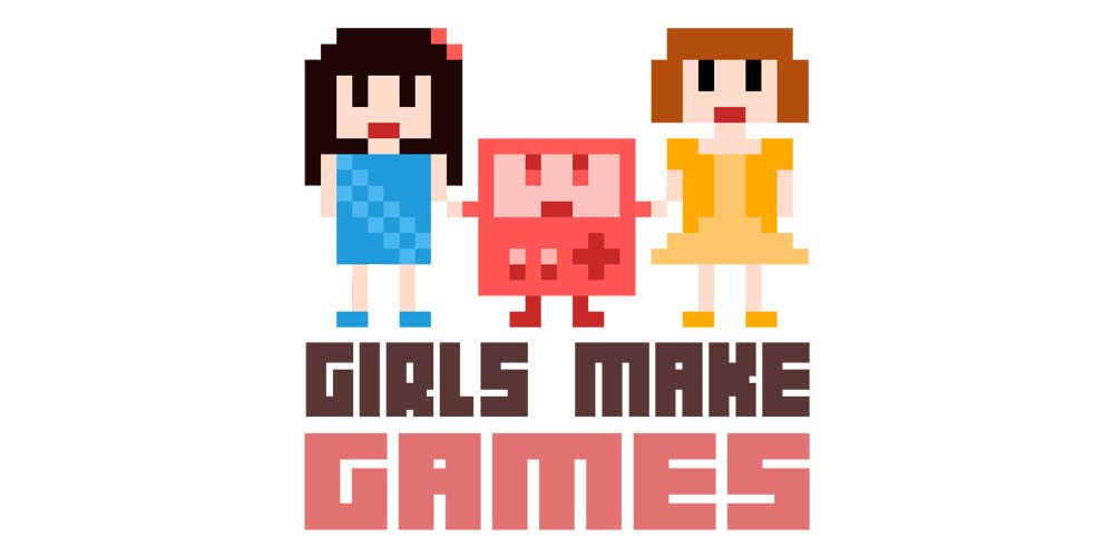 Girls Make Games logo